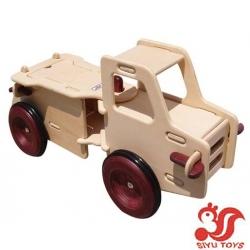 Wooden truck wooden car wooden vehicle