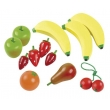 Wooden fruit salad crate