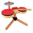 siyu  Musical Band Wooden Drum Set