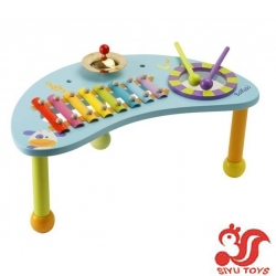 French small musician game table