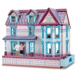 Deluxe Self-Storing Fully Furnished Dollhouse