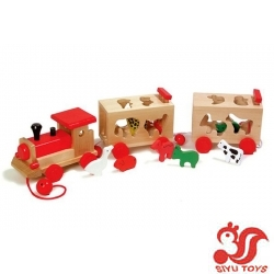 Stacking  Train toys