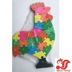 WOODEN COCK PUZZLE