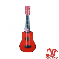 kids toy guitar-red-pink-blue