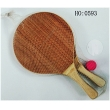 wooden rackets, wooden beach playset