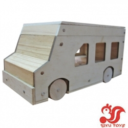 Lovely Wooden Toy Car