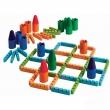 Environmental bamboo fence three castle game (family desktop educational game)