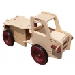 Wooden truck wooden car wooden vehicle