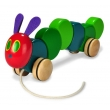 The World of Eric Carle The Very Hungry Caterpillar Wood Pull Toy by Kids Preferred