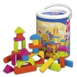 Happy Colourshero wood blocks 75 pieces