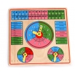 Fascinations First Time Clock Puzzle Clock
